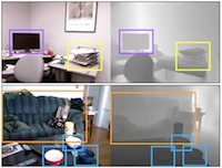 A Category-Level 3-D Object Dataset: Putting the Kinect to Work